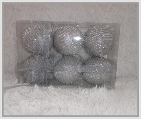Vianočné ozdoby 6ks v balení empty b7904b9e327